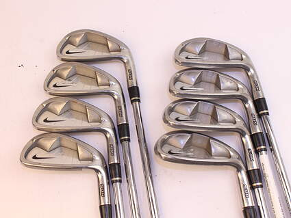 Nike NDS Iron Set 3-PW Stock Steel Shaft Steel Uniflex Right Handed 38.0in
