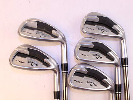 Callaway Apex Iron Set 6-PW UST Mamiya Recoil 660 F3 Graphite Regular Right Handed 37.5in