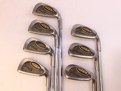 Ping i3 Oversize Iron Set 5-PW Ping JZ Steel Stiff Right Handed White Dot 38.0in