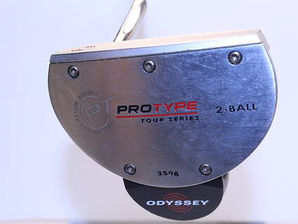 Odyssey Protype Tour 2-Ball Putter Putter Steel Left Handed 35.0in