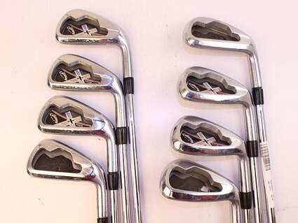 Callaway X Tour Iron Set 3-PW True Temper Dynamic Gold S300 Steel Stiff Right Handed 39.0in