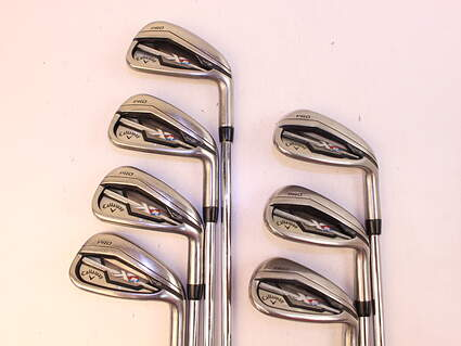 Callaway XR Pro Iron Set 5-PW FST KBS Tour-V 90 Steel Regular Right Handed 38.0in