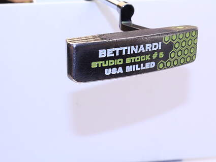 Bettinardi 2012 Studio Stock 5 Putter Straight Arc Steel Right Handed 34.5in