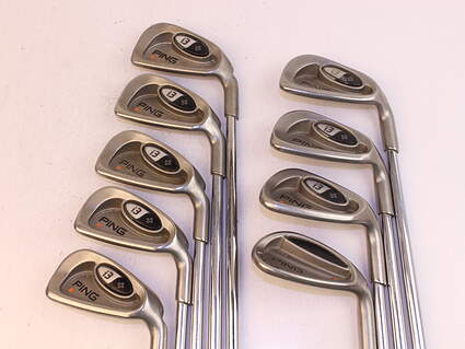 Ping i3 + Iron Set 3-PW GW Ping CS Lite Steel Stiff Right Handed Orange Dot 38.75in