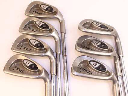 Ping i3 + Iron Set 4-PW FST KBS Tour 90 Steel Stiff Right Handed Black Dot 38.0in