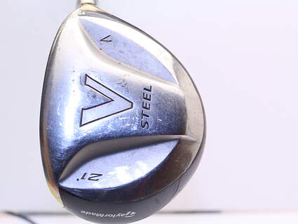 TaylorMade V Steel Fairway Wood 7 Wood 7W 21° TM M.A.S.2 Graphite Light Right Handed 42.0in