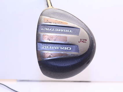 ORLIMAR Trimetal Fairway Wood 7 Wood 7W 21° Stock Graphite Shaft Steel Stiff Right Handed 41.5in