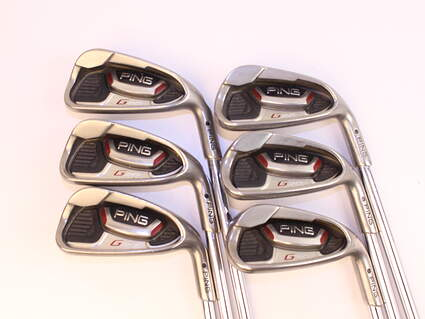 Ping G20 Iron Set 5-PW Ping CFS Steel Regular Right Handed Black Dot 38.0in