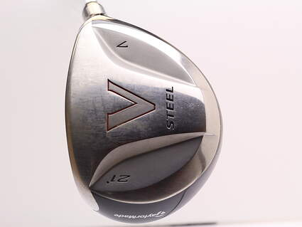 TaylorMade V Steel Fairway Wood 7 Wood 7W 21° Stock Graphite Shaft Graphite Regular Right Handed 42.0in