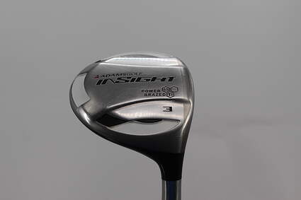 Adams Insight BTY Fairway Wood 3 Wood 3W 15° Adams Stock Graphite Graphite Regular Right Handed 43.0in