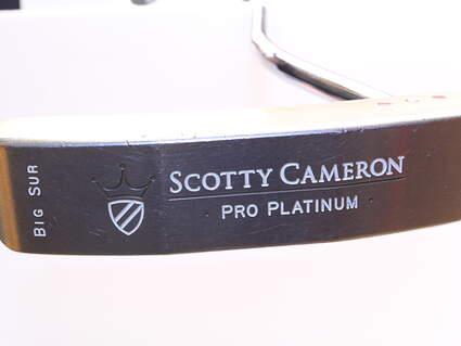 Titleist Scotty Cameron Pro Platinum Big Sur Putter Steel Right Handed 48.0in