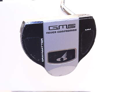 Never Compromise GM2-MM Putter Face Balanced Steel Right Handed 33.75in