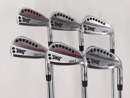 PXG 0311 T GEN2 Chrome Iron Set 4-9 Iron True Temper Dynamic Gold 120 Steel Stiff Right Handed 38.0in