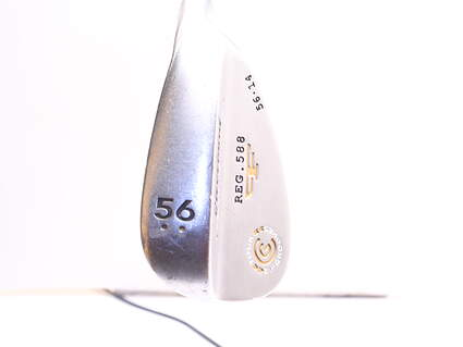 Cleveland 2012 588 Satin Wedge Sand SW 56° 14 Deg Bounce Stock Steel Shaft Steel Wedge Flex Right Handed 35.5in