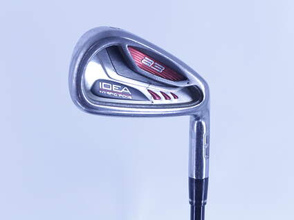 Adams Idea A3 Single Iron 6 Iron Grafalloy ProLaunch Red Graphite Regular Right Handed 38.0in