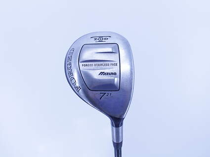 Mizuno T-Zoid Forged Fairway Wood 7 Wood 7W 21° Stock Graphite Shaft Graphite Stiff Right Handed 42.0in