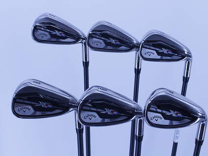 Callaway XR Iron Set 5-PW Project X 5.5 Graphite Regular Right Handed 38.0in