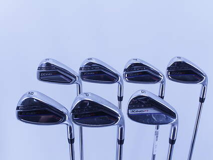Cobra King F7 One Length Iron Set 5-PW Steel Regular Right Handed 38.0in