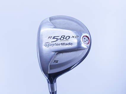 TaylorMade R580 XD Fairway Wood 5 Wood 5W TM Fujikura Hyperlite Blue Graphite Stiff Left Handed 42.5in