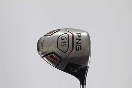 Ping G15 Driver 10.5° Graman Custom Fitted 300 Wood Graphite Regular Right Handed 44.75in