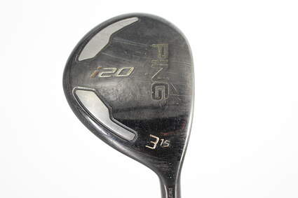 Ping I20 Fairway Wood 3 Wood HL 15° Ping TFC 707F Graphite Stiff Right Handed 42.5in