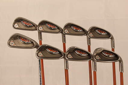 Ping G10 Iron Set 3-PW Ping TFC 129I Graphite Regular Right Handed Blue Dot 37.75in