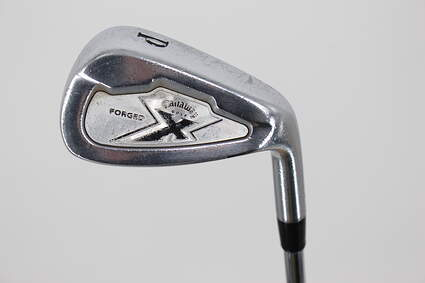 Callaway X Forged Single Iron Pitching Wedge PW Project X 6.0 Steel Stiff Right Handed 35.25in