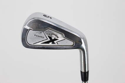 Callaway X Forged Single Iron 5 Iron Project X 6.0 Steel Stiff Right Handed 37.5in