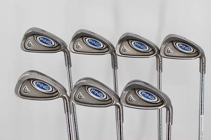 Ping i5 Iron Set 4-PW Stock Steel Shaft Steel Stiff Right Handed Black Dot 38.0in