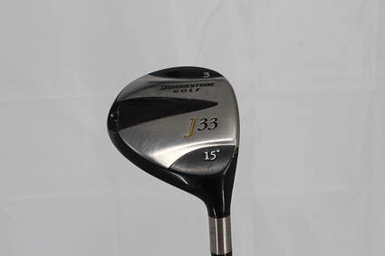 Bridgestone J33 Fairway Wood 3 Wood 3W 15° Stock Graphite Shaft Graphite Regular Right Handed 44.0in