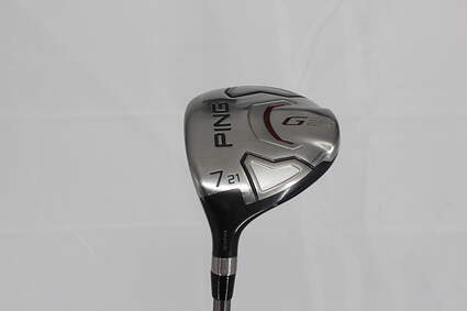 Ping G20 Fairway Wood 7 Wood 7W 21° Ping TFC 169F Graphite Senior Left Handed 41.5in