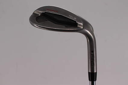 Ping Tour Gorge Wedge Lob LW 60° Standard Sole Ping CFS Steel Wedge Flex Right Handed Black Dot 35.25in