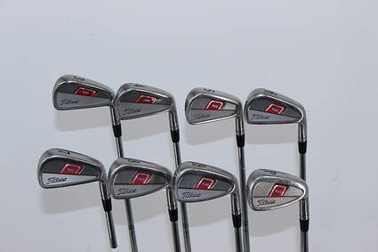 Titleist 755 Forged Iron Set 3-PW True Temper Dynamic Gold X100 Steel X-Stiff Right Handed 38.5in