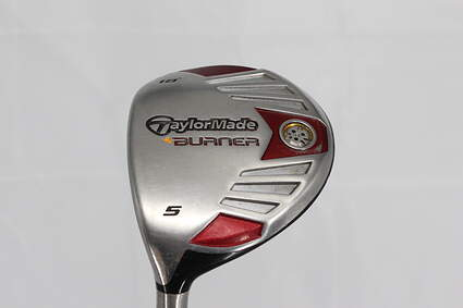 TaylorMade 2007 Burner Steel Fairway Wood 5 Wood 5W 18° TM AeroBurner REAX 50 Graphite Stiff Left Handed 42.5in
