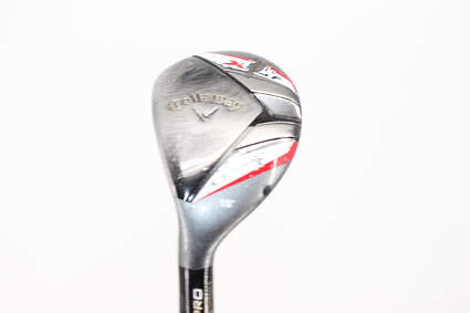 Callaway 2013 X Hot Pro Hybrid 3 Hybrid 18° Project X Pxi 6.0 Graphite Stiff Left Handed 40.75in
