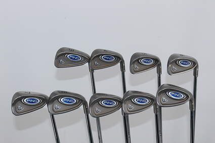 Ping i5 Iron Set 3-PW GW Steel Right Handed 38.0in