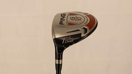 Ping G10 Draw Fairway Wood 7 Wood 7W 21.5° ProLaunch AXIS Red Graphite Firm Left Handed 41.5in