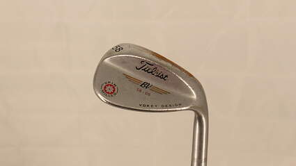 Titleist Vokey Spin Milled CC Chrome Wedge Pitching Wedge PW 58° 8 Deg Bounce Titleist Vokey BV Steel Wedge Flex Right Handed 34.75in