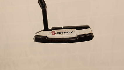 Odyssey Versa #2 Black White Black Putter Strong Arc Steel Right Handed 34.5in