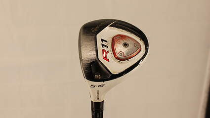 TaylorMade R11 Fairway Wood 5 Wood 5W 19° TM Fujikura Blur 70 Graphite Senior Left Handed 42.25in