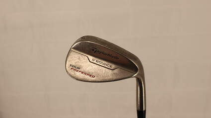 TaylorMade 2014 Tour Preferred Bounce Wedge Gap GW 52° 9 Deg Bounce FST KBS Tour-V Steel Stiff Right Handed 35.75in