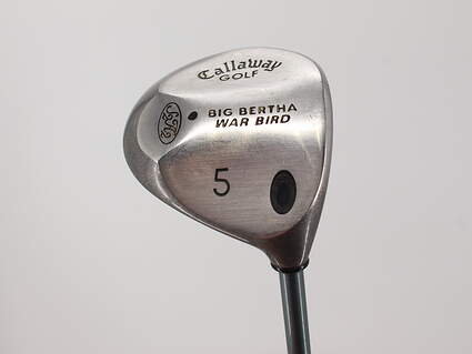 Callaway Big Bertha Warbird Fairway Wood 5 Wood 5W 19° Callaway Gems Graphite Ladies Right Handed 40.75in