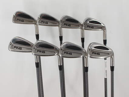 Ping S59 Iron Set 3-GW Ping TFC 100I Graphite Stiff Right Handed