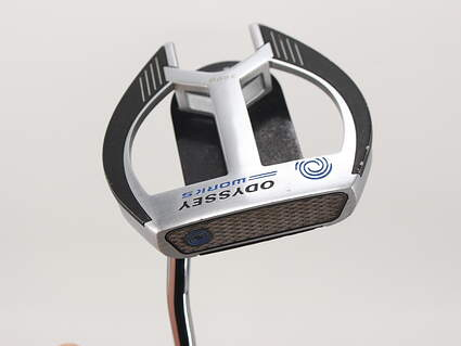 Odyssey Works Tank Cruiser 2-Ball Fang Putter Face Balanced Steel Right Handed 32.0in