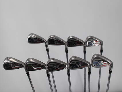 Nike Victory Red Pro Cavity Iron Set 4-PW GW SW True Temper Dynalite 110 Steel Stiff Right Handed 37.5in