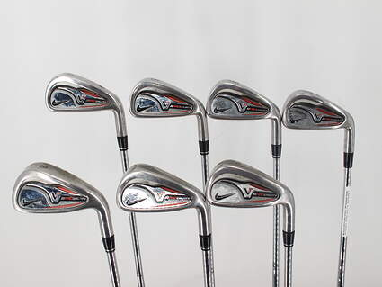Nike Victory Red Pro Cavity Iron Set 4-PW True Temper Dynamic Gold X100 Steel X-Stiff Right Handed 37.5in