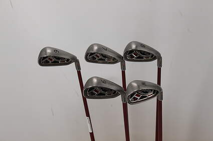 Ping G15 Iron Set 6-PW Ping TFC 149I Graphite Regular Right Handed Red dot 37.5in