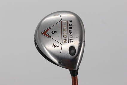Callaway Big Bertha Fusion Fairway Wood 5 Wood 5W 19° Aldila NVS 55 Graphite Right Handed 41.5in