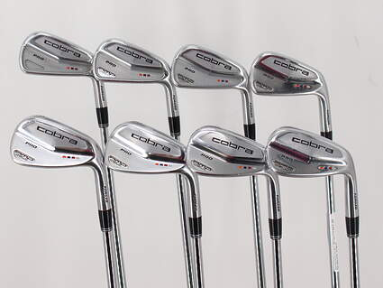 Cobra Amp Cell Pro Iron Set 4-GW Project X 6.5 Steel X-Stiff Right Handed 38.0in