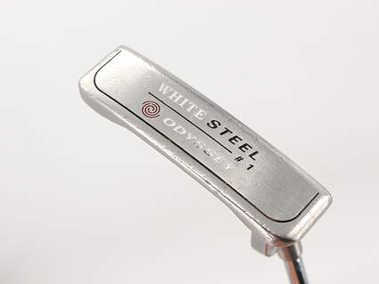 Odyssey White Steel 1 Putter Slight Arc Steel Right Handed 34.5in
